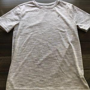 Boys Grey/White Old Navy Athletic T-Shirt